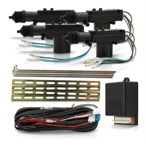 Kit Trava Elétrica Pósitron TR420 4 Portas Universal