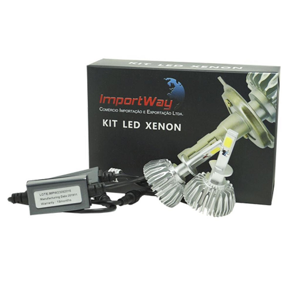 Lampada Led Import Way hb4 Efeito Xenon 6000k