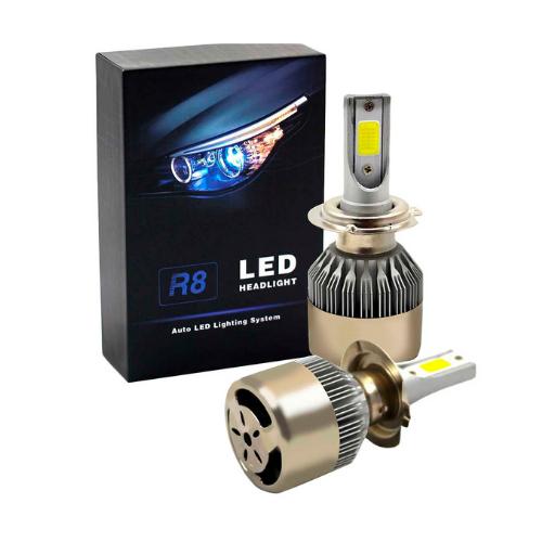 Lampada Led R8 Headlight H1 6500k