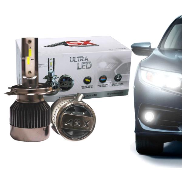 Lampada Ultra LED Asx H27 CSP 6500k 8000 Lumens