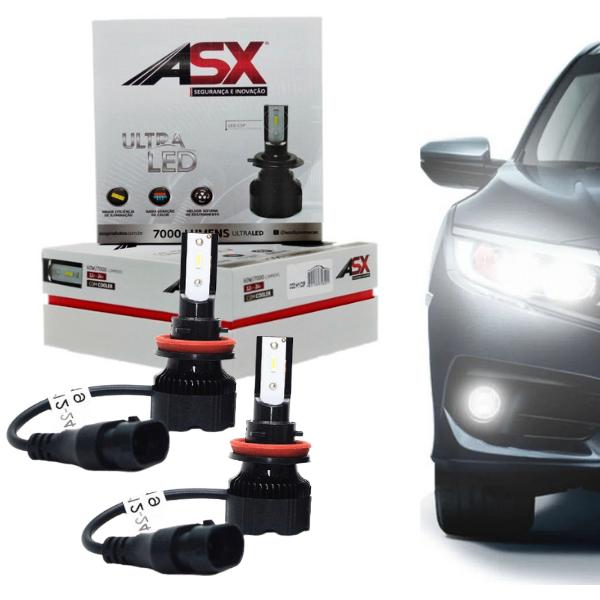 Lampada Ultra LED Asx HIR2 CSP 6000k 7000 Lumens