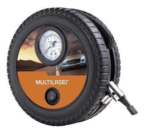 Mini Compressor Automotivo Multilaser 12v Au615 Carro Moto