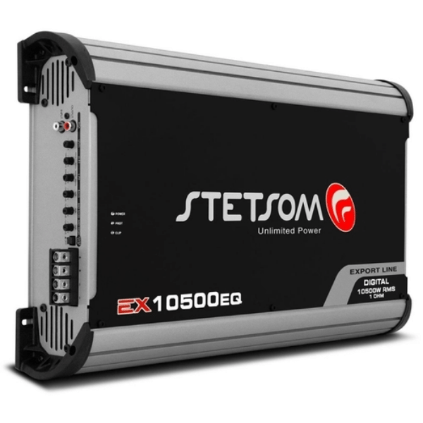 Modulo Amplificador Stetsom EX10500EQ 1 Canal 10500W RMS 2 OHMS
