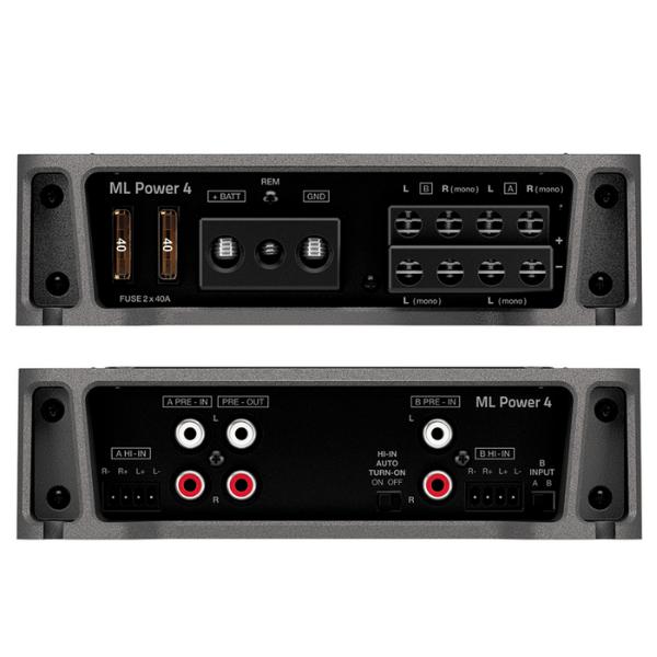 Modulo Amplificador Hertz ML Power4 1000W 4 Canais
