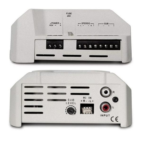 Modulo Amplificador Stetsom CL1500 Trio 400W RMS 3 Canais 2 Ohms