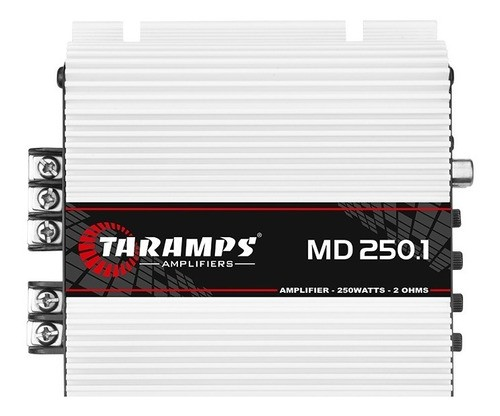 Modulo Amplificador Taramps 250 Md 250.1 2 Ohms 250w Som