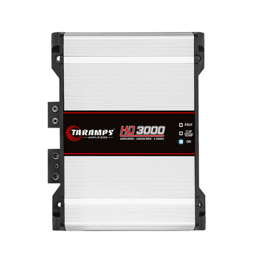 Módulo Amplificador Taramps HD 3000 Classe D 1 Canal 3000W RMS 4 Ohms