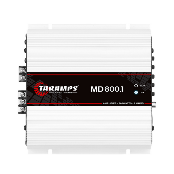 Módulo Amplificador Taramps Md 800.1 1 Ohms Som Automotivo