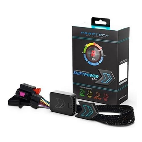 Modulo de Aceleração Chevrolet/Fiat/Jeep/Nissan Shiftpower Ft-sp02+ C/ Bluetooth