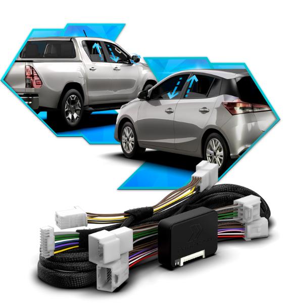 Modulo de Automação Vidros Elétricos Toyota FT-AC-TY2