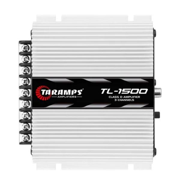 Modulo Potência Taramps TL 1500 4 ohms 3 Canais