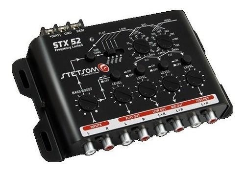 Processador Crossover Stetsom Stx52 4 Vias Som Automotivo