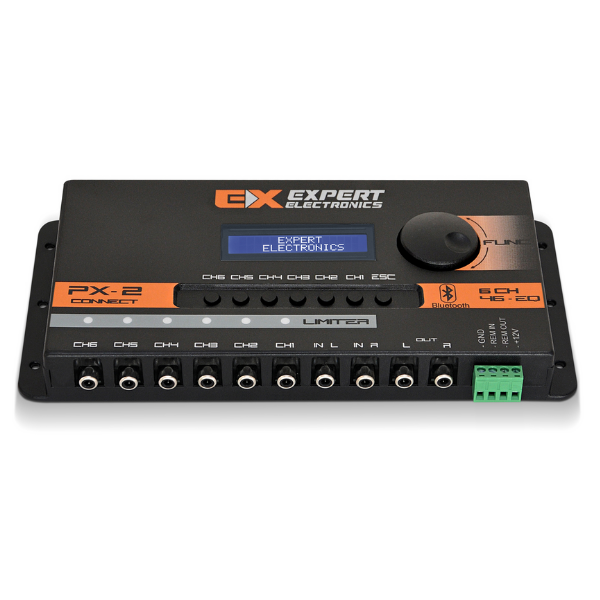 Processador de Áudio Automotivo Profissional Expert PX2 Connect