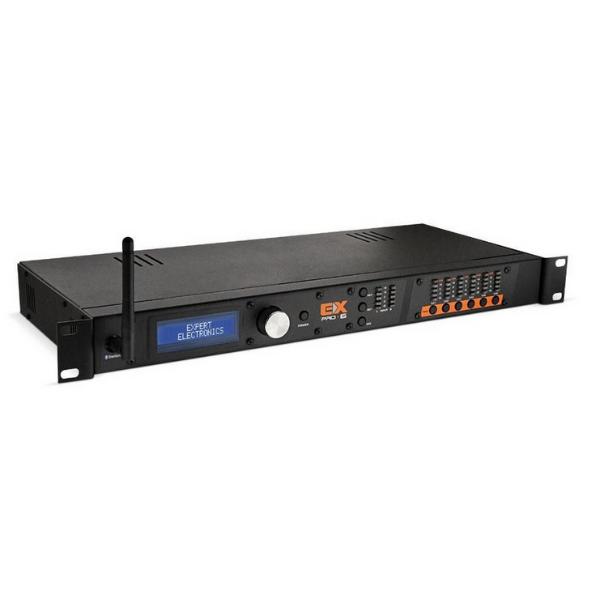 Processador de Áudio Automotivo Profissional Expert Pro 6 Canais Bluetooth