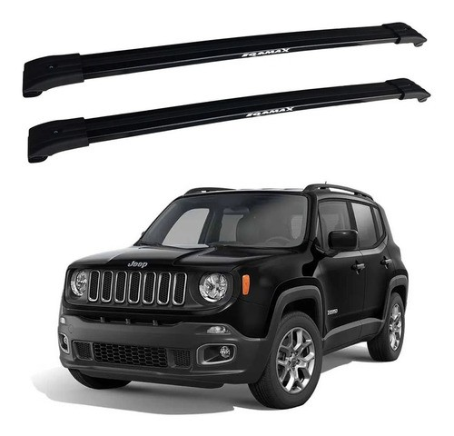 Rack De Teto Travessa Larga Jeep Renegade 15 A 18 Eqmax Big