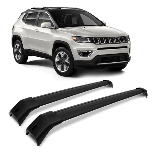 Rack Teto Travessa Larga Jeep Compass 2016 A 2020 Projecar