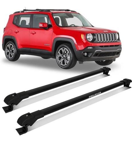 Rack Teto Travessa Slim Jeep Renegade 2015 A 2021 Projecar