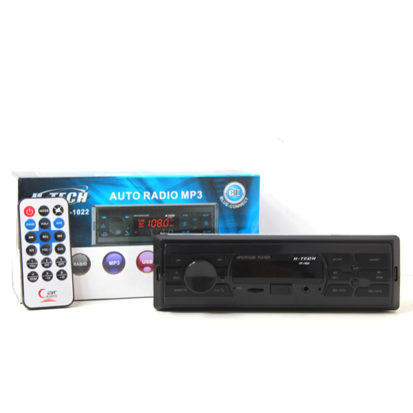 Rádio Mp3 Player Automotivo H-tech Ht-1022 Bluetooth/Usb/Sd Micro/Aux