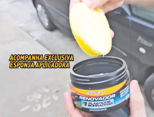 Renovador Plásticos Borrachas Luxcar Produto Original