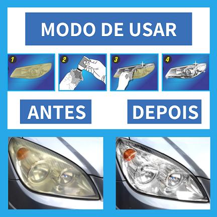 Revitalizador Farol Novo Luxcar Produto Líquido Original