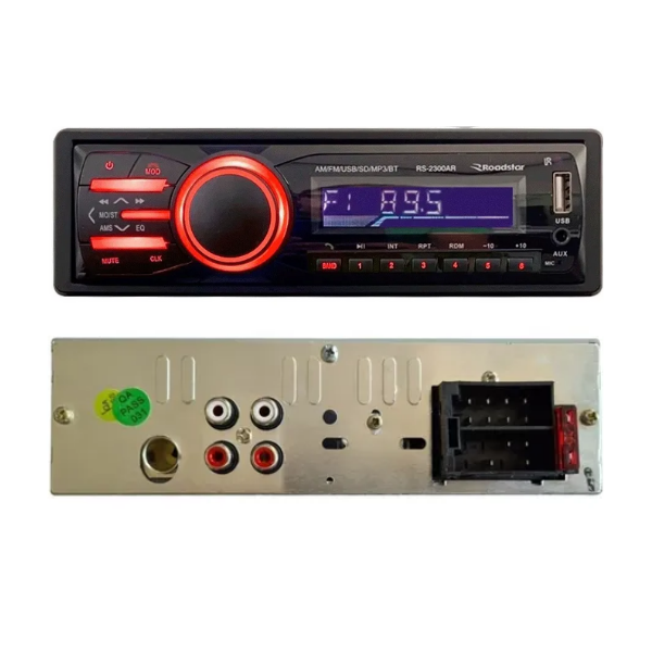 Som Automotivo Roadstar RS-2300 Bluetooth/USB/Sdcard