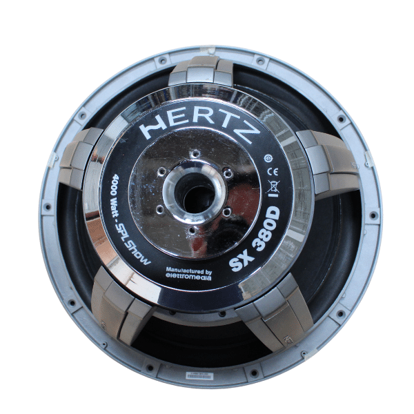 "Subwoofer 15"" Hertz SPL Show SX 380D 4000W Rms"