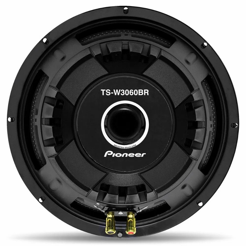 "Subwoofer Pioneer 12"" TS-W3060 600W 4ohm Bobina simples"