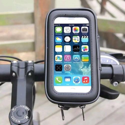 Suporte De Celular Para Moto Bike Ifood Impermeável Luxcar