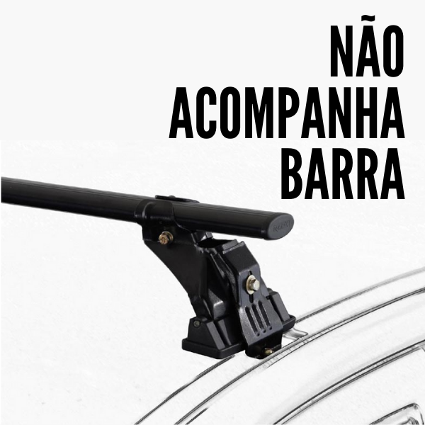 Suporte Rack de Teto Travessa Eqmax Aço Kit 16