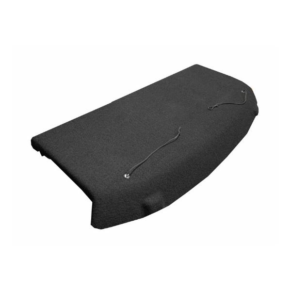 Tampão de Porta Malas Tracker PCD Preto Carpete