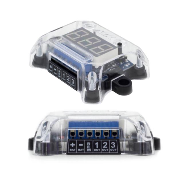 Voltímetro Digital AJK Sound Remote Control e Sequenciador