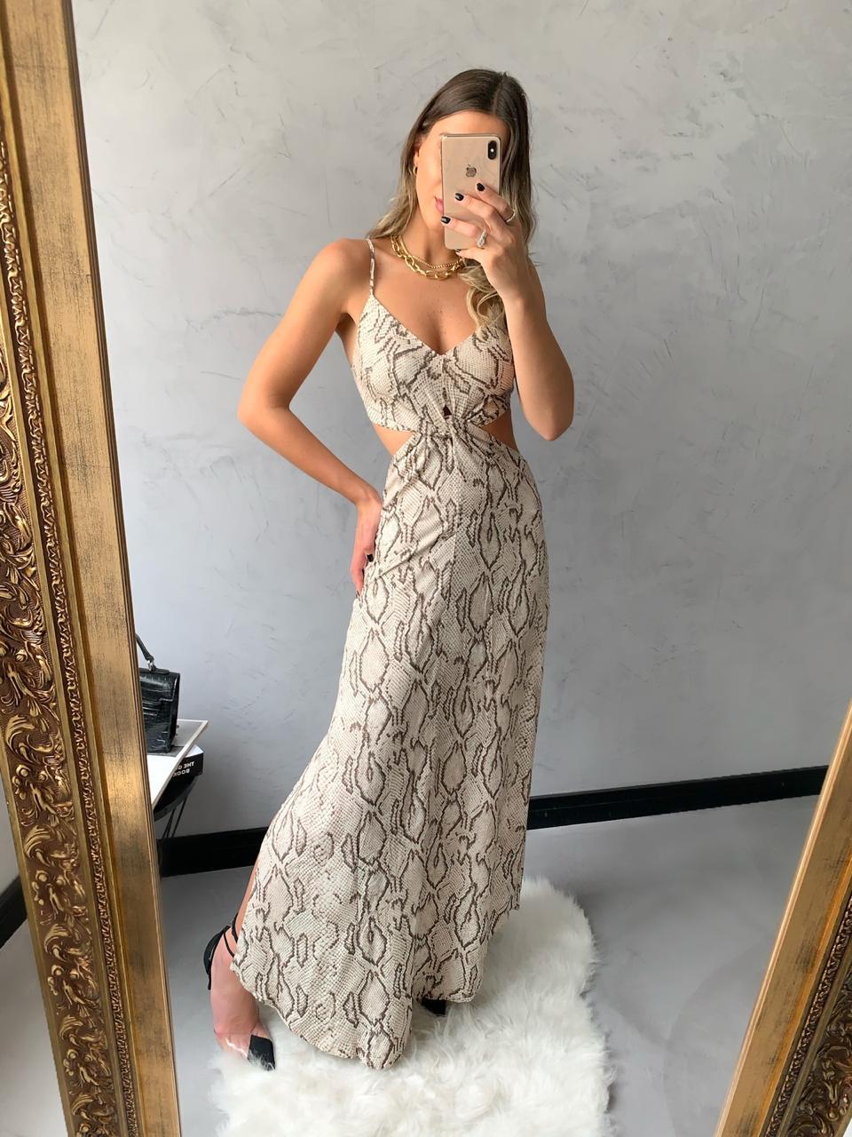 Vestido SNAKE