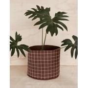 Vaso para Plantas Grande (Grid)