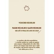 Voucher R$300,00
