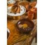Prato Sobremesa Abstrato Botânico