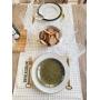 Prato Sobremesa Terracota Verde