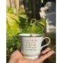 Xícara de chá lindo dia