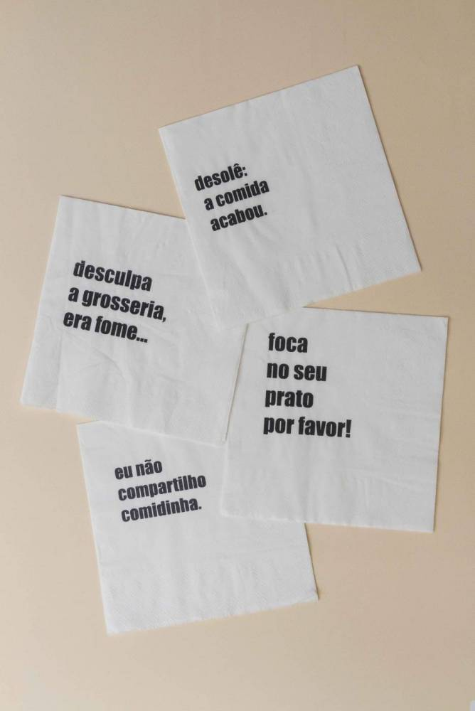 Guardanapo Mix Frases G {20 unid.}