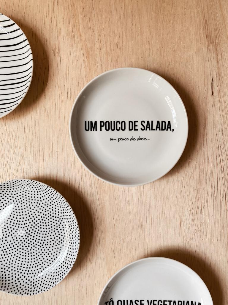 Prato Pão PB Salada