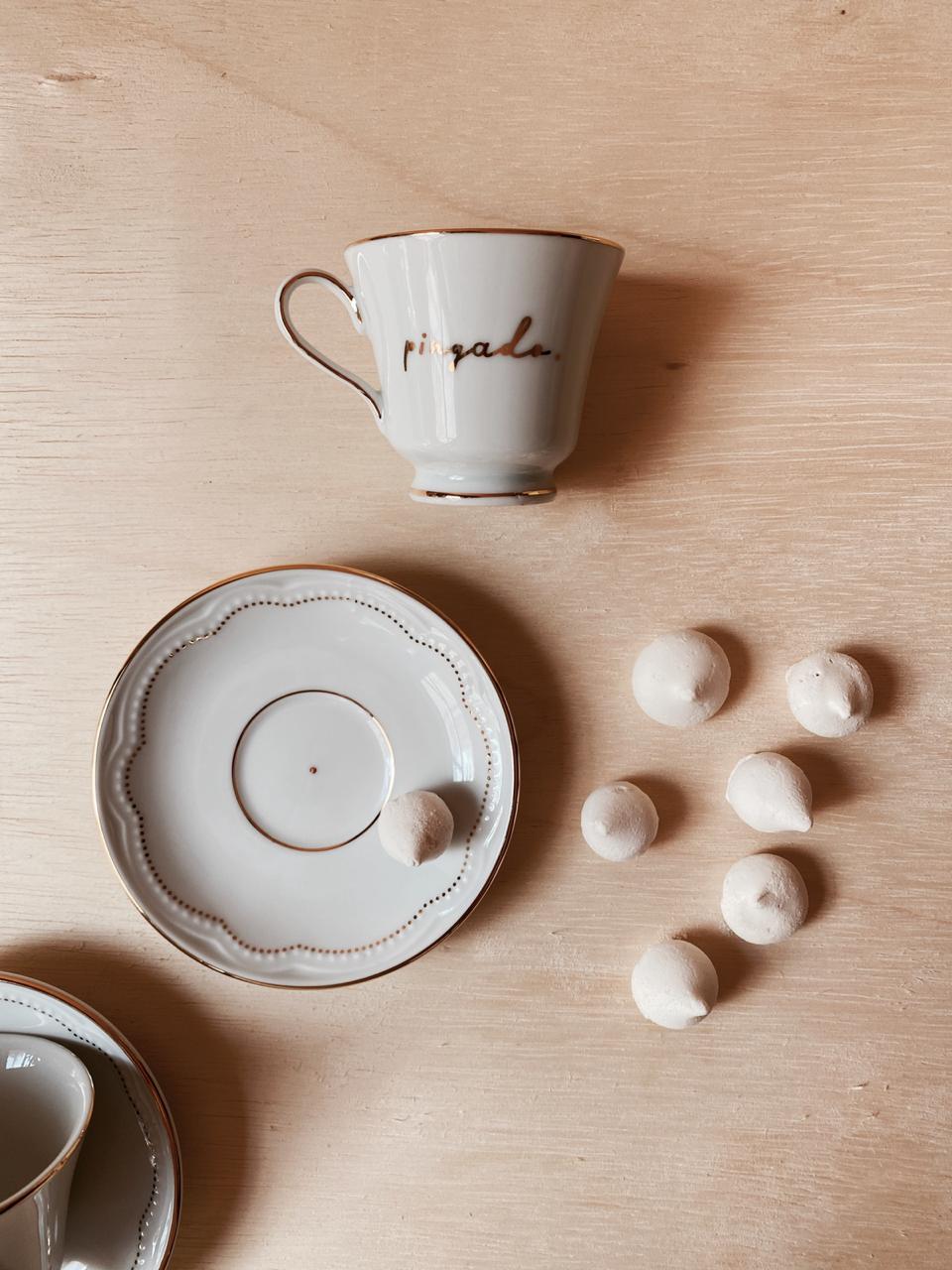 Xícara café pingado