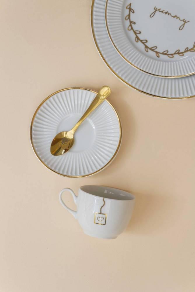 Xícara de Chá Pliê