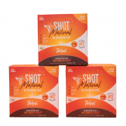 3 caixas -  Shot matinal de MCT e vitamina C