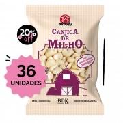 SUPER PACK 36 unidades - Canjica de Milho com Açúcar Orgânico 50g