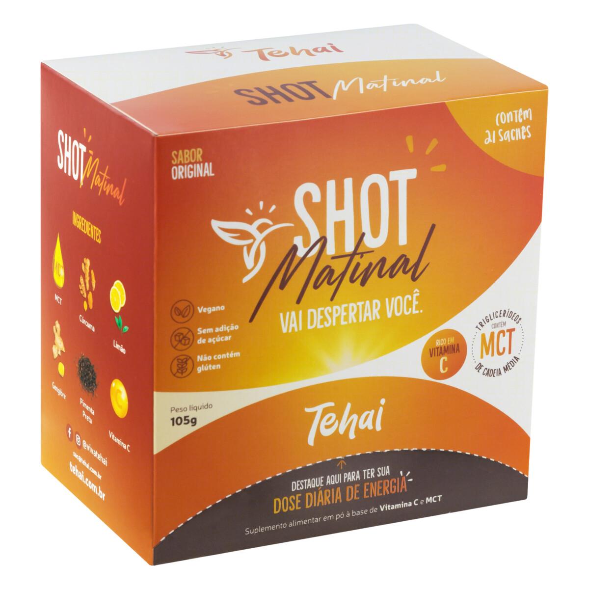 2 meses - Shot Matinal Tehai - Suplemento de MCT e Vitamina C