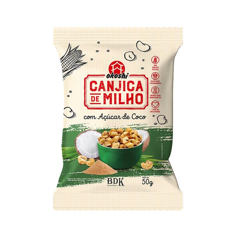 Canjica de Milho com Açúcar de Coco - 50g