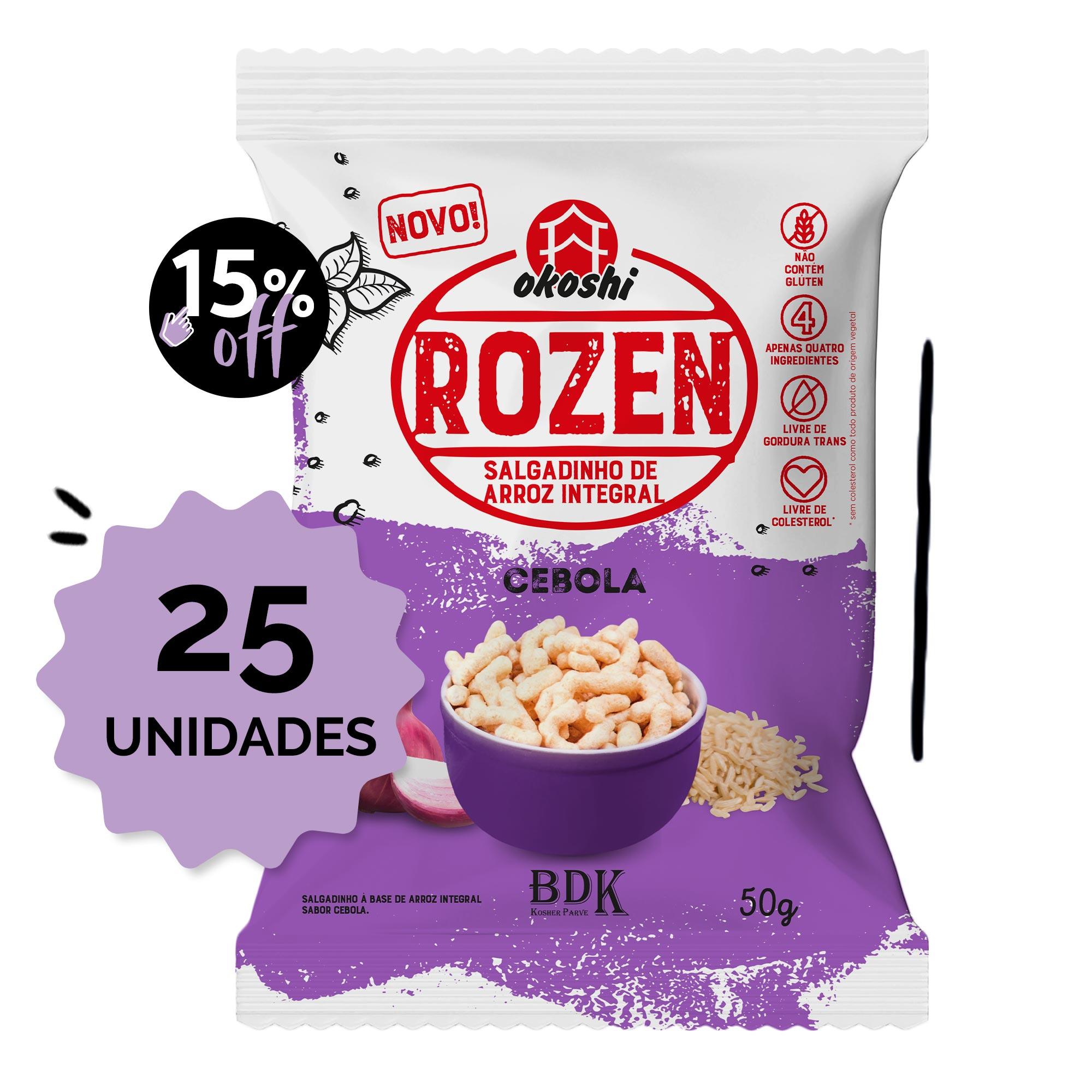 SUPER PACK 25 unidades - Rozen Cebola