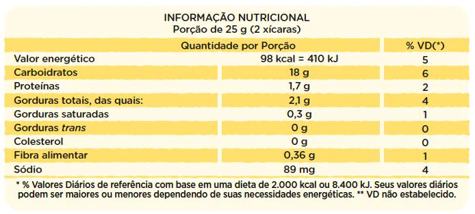 SUPER PACK 36 unidades - Canjica de Milho com Sal Marinho 50g