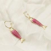 ARGOLA  FISH - PINK