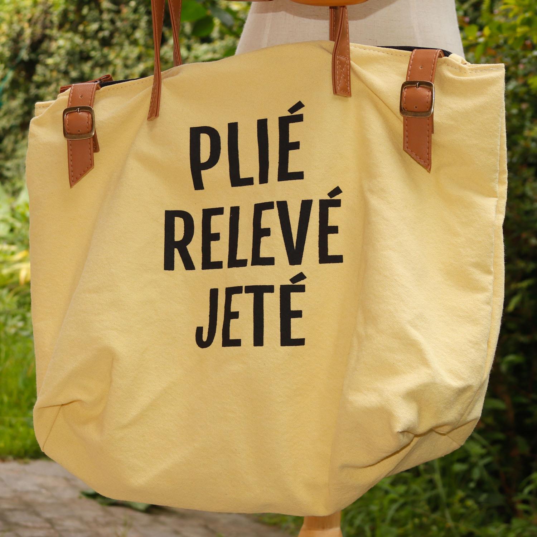 BOLSA PLIE RELEVE JETE - AMARELO