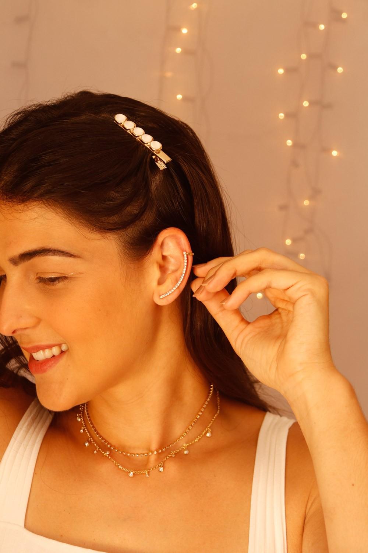BRINCO EAR CUFF STRASS